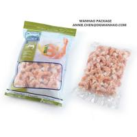 Buy cheap Custom printed Seafood shrimp Vacuum Packaging bag for Frozen Storage from wholesalers
