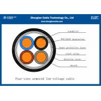 China Low Voltage 4 Core Outdoor Underground Armoured Cable SWA Armoured Cable IEC Standard on sale