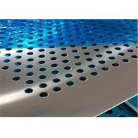 Buy cheap Professional Design Perforated Metal Mesh Plate Stainless Steel Round Hole product