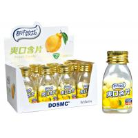Buy cheap 20g Bottle pack Vitamin C Sugar free mint candy lemon fresh candy Pepper mint Sorbitol product