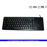 China Compact Plastic Industrial Computer Keyboard IP65 With Function Keys And Trackball on sale