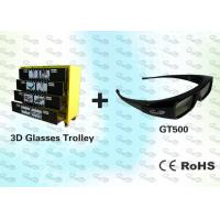 Buy cheap OEM 3D Package Black Stereo 3D Glasses with Trolley product