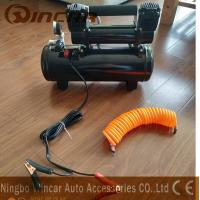 Buy cheap Double 30mm Cyclinder 12V Portable Air Compressor 8 Bar Max Pressure product