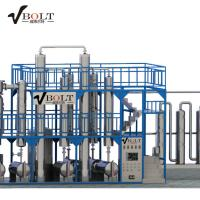 China Used waste engine oil filter recycling distillation machine on sale