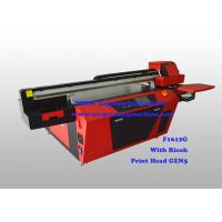 Buy cheap Commercial Multicolor Flatbed Wood UV Printer With Ricoh Industrial Print Head product