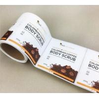 Buy cheap Round Shape Synthetic Paper Sticker Blank Printing With Customized Size from wholesalers