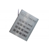 Buy cheap Outdoor 4 X 5 Numeric Key Pad By Industrial Metal With TTL Cable from wholesalers