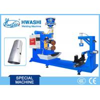 Buy cheap HWASHI Oil Tank Roller Seam Welder , Industrial Gas Tank Seam Welding Machine from wholesalers