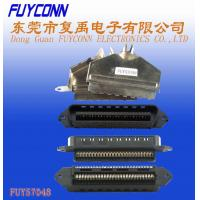 Buy cheap Centronics 25 pairs IDC Male Plug Connector 50 pin 180 degree metal cover product