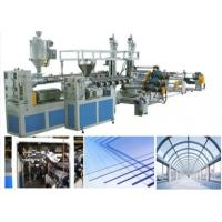 China Agricultural Plastic Sheet Extrusion Line Greenhouse Hollow Polycarbonate Roof Panels on sale