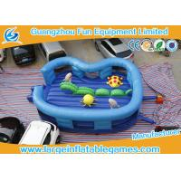 Buy cheap Kids Cartoon  Ocean  world Inflatable Jumping  Bouncy Castle in  Blue from wholesalers