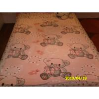 Buy cheap Car Airplane / Hotel 100% Polyester Baby Blanket 110X140CM , Cozy Baby Girl Blankets product
