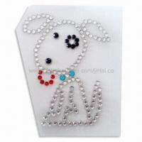 Buy cheap Crystal Car Sticker in Animal Shape, Suitable for Window Decoration product