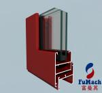 6000 T5 T8 Series Europe Design Sliding Windows Aluminum Profile