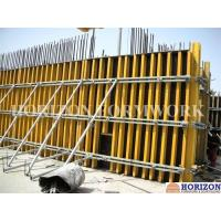 Buy cheap Concrete Wall Formwork System With H20 Wooden Beam and Steel Walers product
