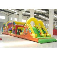 Buy cheap New Inflatable Obstacle Course, PVC Tapraulin Inflatable Obstacle For Adult from wholesalers