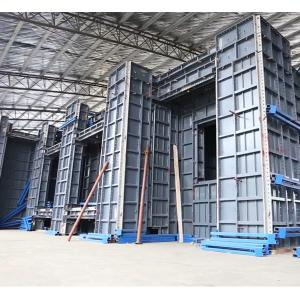 Buy cheap 4mm 25KG/SQM Heavy Duty Building Aluminum Formwork Profiles product