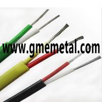 Buy cheap Fiberglass Braided Heat Resistant Electrical Wire , Silicone Rubber Insulated Cable product