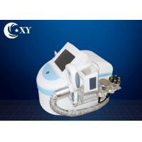 Buy cheap Portable Fat Removal Device / Cryolipolysis Fat Freezing Machine White Color product