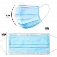 Buy cheap Medical 3 Ply Disposable Face Mask Protective Respirator FDA CE ISO Approved product