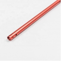 Buy cheap Anodized Silver Gold Champagne 50mm Extruded Aluminum Tube For Fishing product
