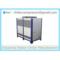 Buy cheap 10HP Food Grade Air-cooled Water Chiller for Dairy Milk Plant Cooling product