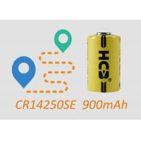Buy cheap 1/2AA CR14250SE Primary Lithium Battery No Rechargeable High capacity Non-rechargeable Gas Meter NB-IoT Meter and Sensor product