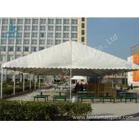 Buy cheap UV Resistant and Waterproof Aluminum Alloy Outdoor Event Tent White PVC Fabric Cover product