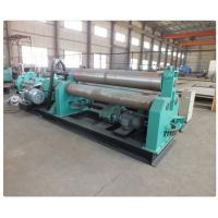Buy cheap Plate Bending Machine Three Hydraulic Motors Thickness 15~100mm Roll Forming Machinery product