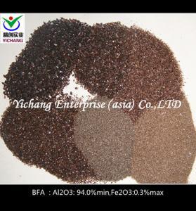 Buy cheap 95% Al2o3 Brown Fused Carborundum Grain Sandblasting And Polishing product