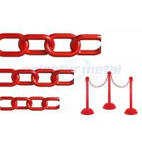 Buy cheap ISO Approved Decorative Lightweight Red Plastic Safety Chain For Street product