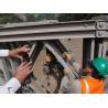 Buy cheap Galvanized Prefabricated Steel Bridges , Manpower Assembling Temporary Pedestrian Bridge product