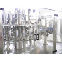Quality PET Bottle Hot Filling Machine , Automatic 3 in 1 Beverage Filling Production Line for sale