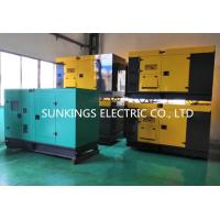 230V/400V AC Three Phase Automatic Electric Generator / Silent Generator Set