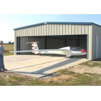 Quality Movable Light Steel Structure Hangar , Wall / Roof Panel Aircraft Hangar Construction for sale