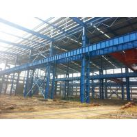 Buy cheap Heavy Structural Steel Frame Construction For Warehouse Convenient Assembly product