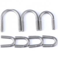 Buy cheap Pipe Threaded U Bolt For 6 Inch Lift Corrosion Resistance DIN 3570 product