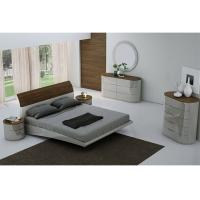 Buy cheap E1 Board High Gloss Bedroom Furniture with Veneer and Optional Wardrobe product