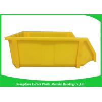 Buy cheap Commercial Stackable Bins With Hinged Lids , Heavy Duty Warehouse Storage Containers product