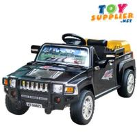 Buy cheap 4 Channel R/C Ride on Hummer Toy Car product