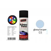 Buy cheap Car Removable Rubber Spray Paint , Air Dried Auto Spray Paint With Glossy from wholesalers