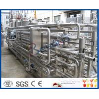 Buy cheap 1000LPH 5000LPH SS 304 SS316L Tubular Uht Processing Equipment For Milk / Juice Production product