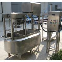 Buy cheap 1000L/1500LSUS304 industrial cheese making machine with heating, cooling jacket and agitator for white cheese 500g size product