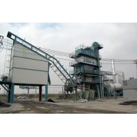 Buy cheap Screw Conveyor Tri - Fuel Burner Asphalt Batch Mix Plant With 0.075mm Dust Separation product