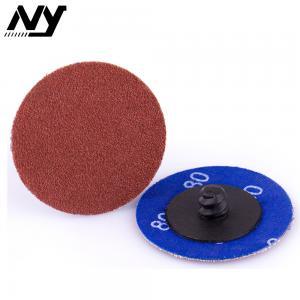Buy cheap Aluminum Oxide Quick Change Disc Type R  Surface Condition  Economical Fracture Resistant product