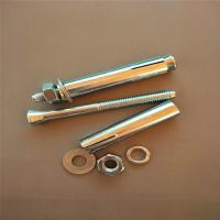 Buy cheap Powers Concrete Fasteners Hex Bolt Sleeve Anchors Length 60-120mm Multiple Applications product