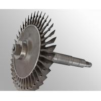Buy cheap Custom made Raw casting plus machining vacuum investment casting steam turbine wheel from wholesalers