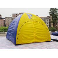 Buy cheap Customized Inflatable Event Tent , Inflatable Display Tent With Logo Printing product