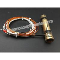 Buy cheap Inner Diameter 15MM Press In Brass Coil Heaters With Thermocouple J product