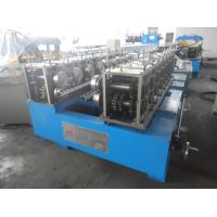 Quality Standing Seam Roof Panel Roll Forming Machine Container Fix Type PPGI PPGL 320-400 Mpa for sale